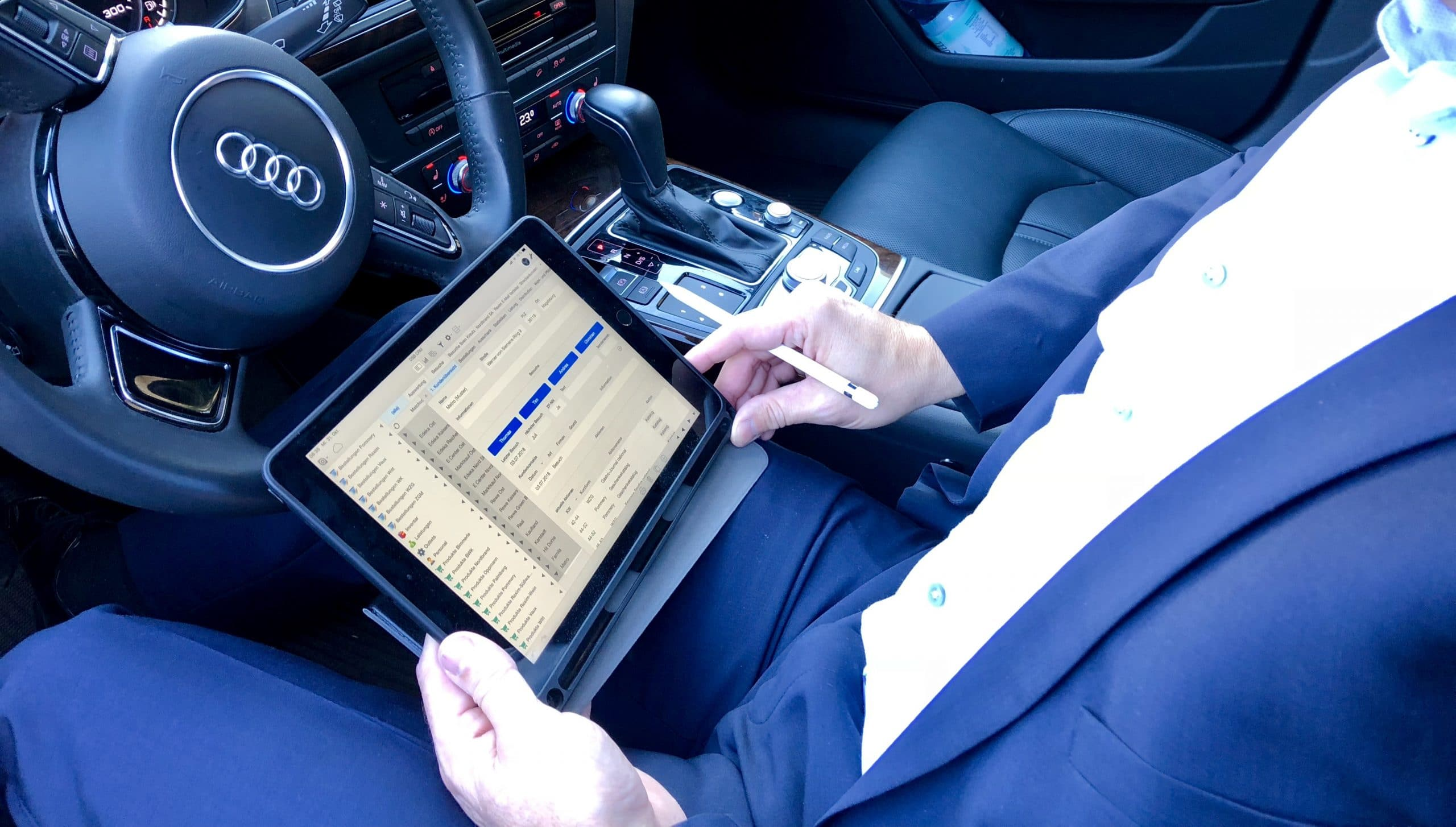Ninox Premium Template Sales Suite Vertriebssteuerung Außendienststeuerung CRM
